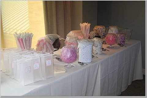candy buffet how to