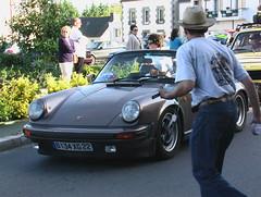 Tour de Bretagne 2006, Voiture Ancienne Porche Cabriolé