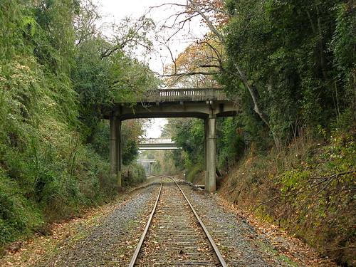 railroad bridge tracks southcarolina aiken scbin carlfbagge