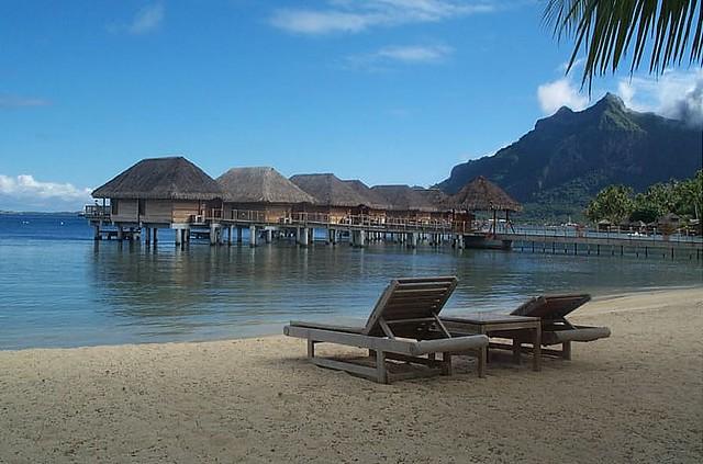 Playa Pointe Raititi en Bora Bora