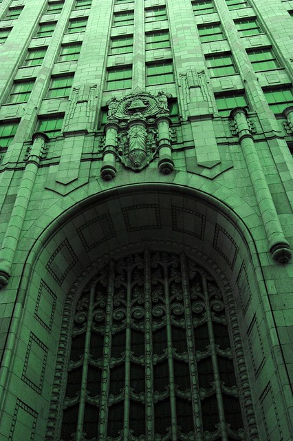 Going green the ma bell building art deco archway and Deco san francisco
