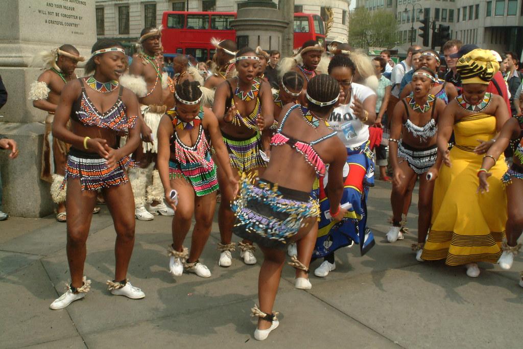 Zulu Women Bathing 24