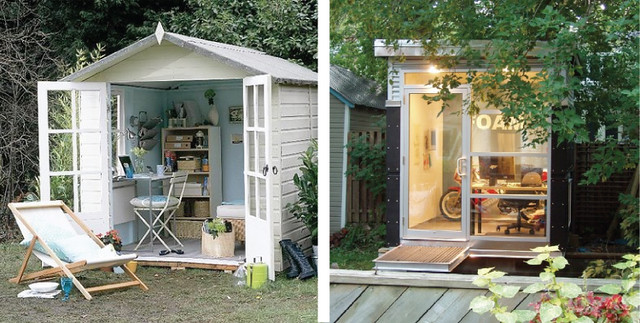backyard office spaces flickr photo sharing