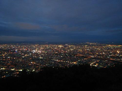 札幌市内-藻岩山