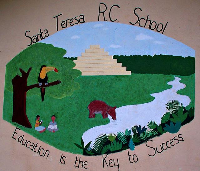 Santa Teresa 1 Maya village school