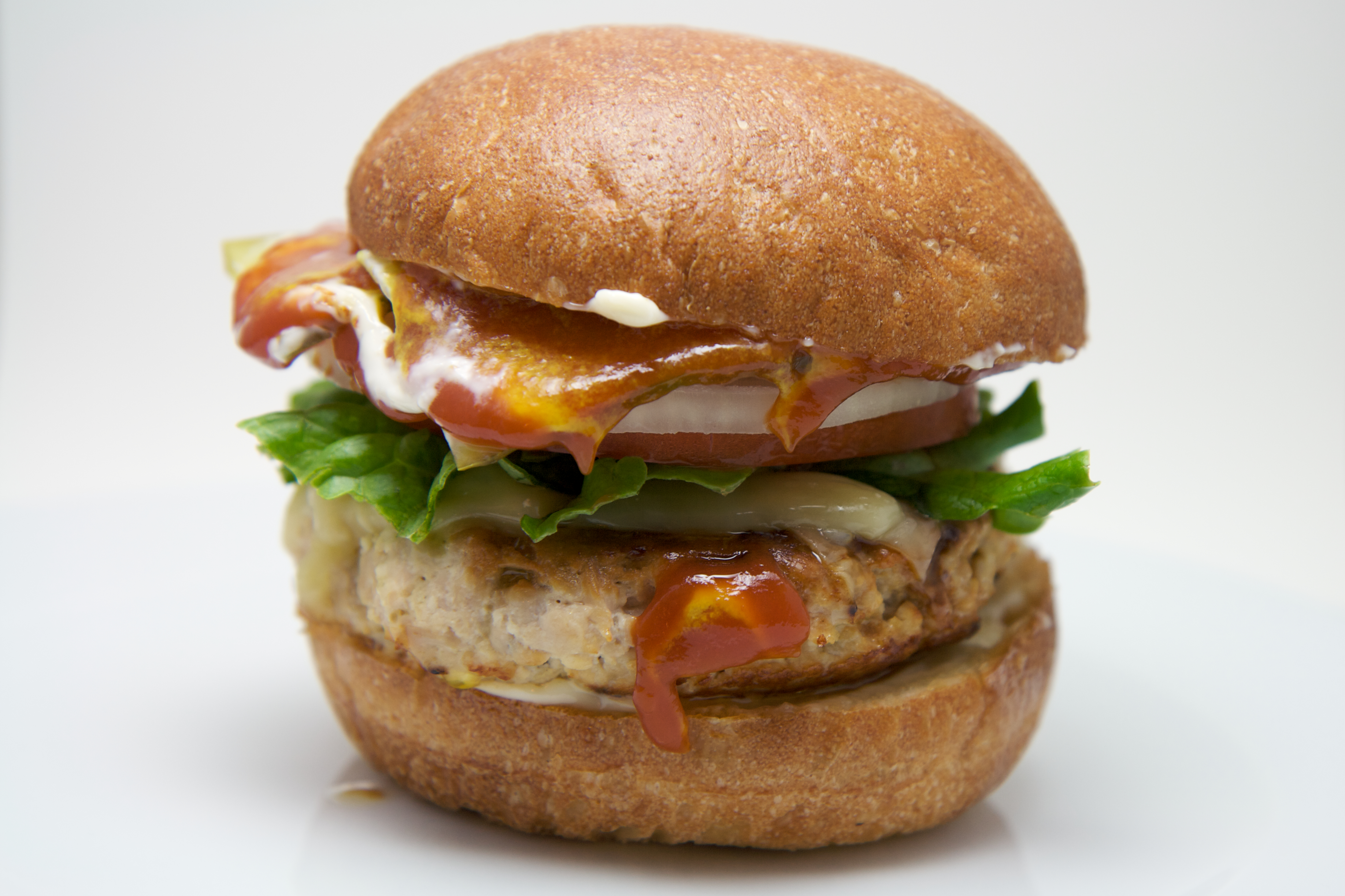 Turkey Burger | * turkey * sharp cheddar * lettuce * tomato ...
