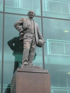 Bild von Sir Matt Busby statue. england manchester trafford manchesterunited oldtrafford mattbusby