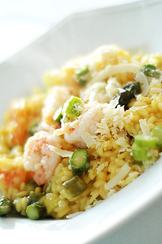 Edible Organic Green Tea Risotto