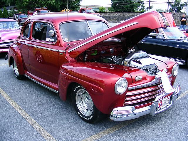1946 ford super deluxe tudor sedan for 1941 ford super deluxe 4 door sedan