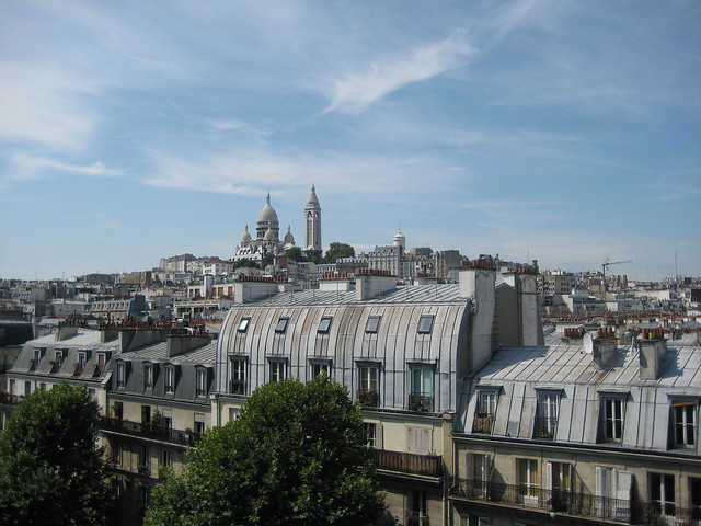 les toits de paris vue sur le sacr coeur flickr. Black Bedroom Furniture Sets. Home Design Ideas