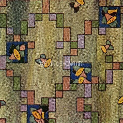 Linoleum pattern 1930 flickr photo sharing for 1930 floor tiles