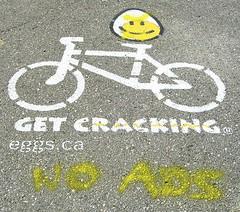 Against bike path advertising
