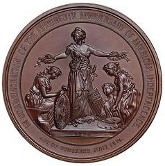 1876 Centennial Medal