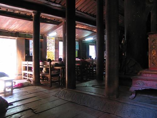 Bagaya Monastery and School - Inwa (Ava) Myanmar (Burma)