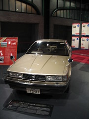 Toyota Soarer in the Toyota Museum