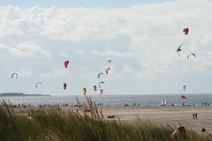 beach, individual sports, sports, sea, windsports, wind, kite, coast, kitesurfing, sport kite,