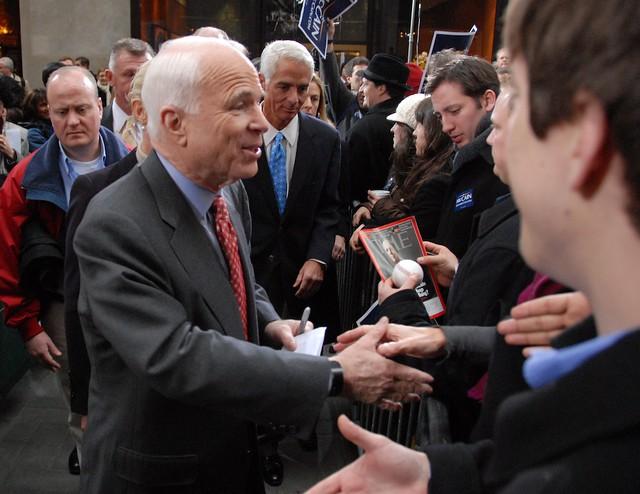 John McCain @Rockefeller Center/Super Tuesday