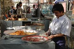Xinjiang Food: Manti with Pumpkin - Kashgar, China