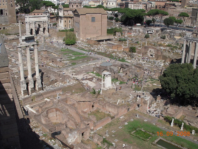 156 - Palatino y Foro Romano