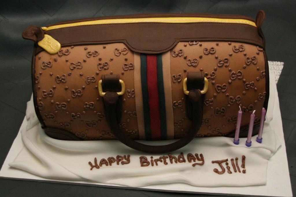 Jills Gucci Bag Birthday Cake A Photo On Flickriver