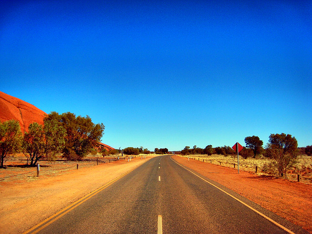 Driving in Australia - Flickr CC joanet