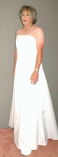 white gown hot 1 by JeneeDavis