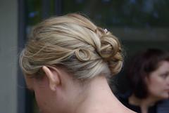 bun(0.0), french braid(0.0), brown hair(0.0), hair coloring(0.0), braid(0.0), chin(1.0), face(1.0), hairstyle(1.0), chignon(1.0), head(1.0), hair(1.0), blond(1.0), eyebrow(1.0), forehead(1.0),