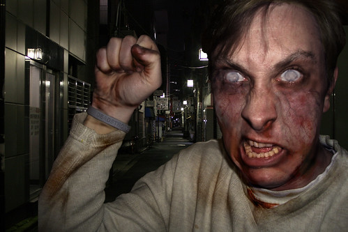 Zombie me goes to Japan