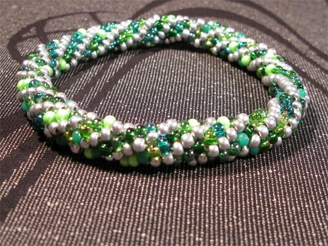 crocheted bead bracelets bracelet bead