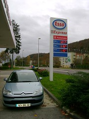 Petrol price and our rental car