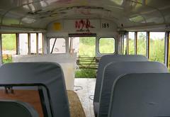 Staging Area - School Bus - Rear Seats