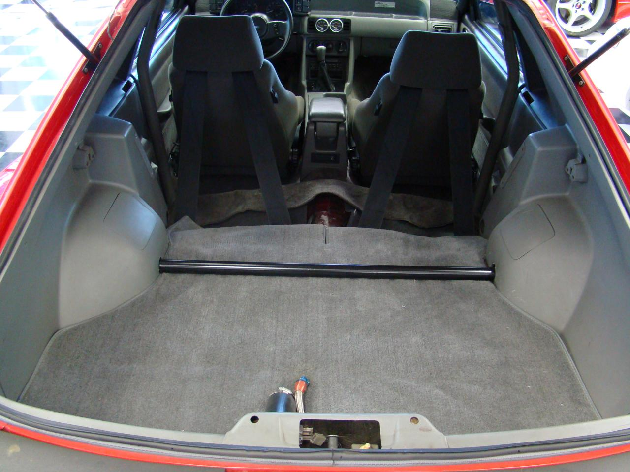 JBA Team Dominator GTA Trunk and Rear Strut tower Brace