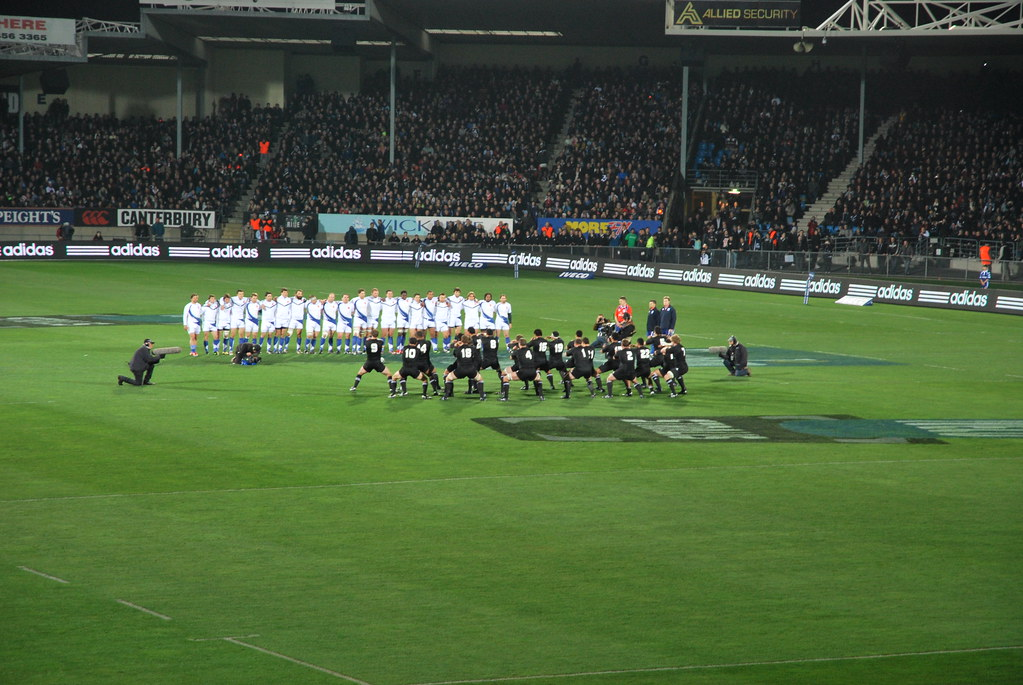 All Blacks France - Dunedin 130609