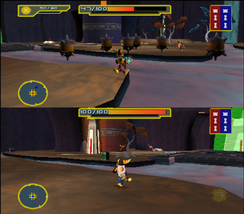 Ps2 Games All Of Them : Ratchet and clank size matters ps multiplayer details