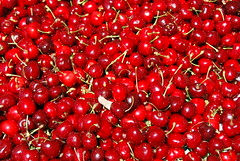 shrub(0.0), pink peppercorn(0.0), acerola(0.0), flower(0.0), cranberry(0.0), rose hip(0.0), zante currant(0.0), lingonberry(0.0), cherry(1.0), berry(1.0), red(1.0), produce(1.0), fruit(1.0), food(1.0),