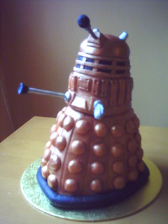 Dalek Birthday Cake