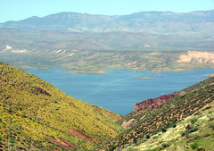 Roosevelt Lake from Inspiration Point