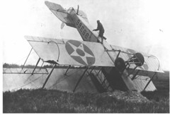 Wrecked Airmail Plane