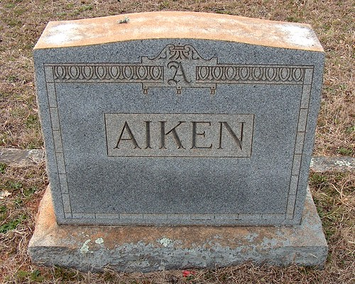 The Aiken Monument by midgefrazel
