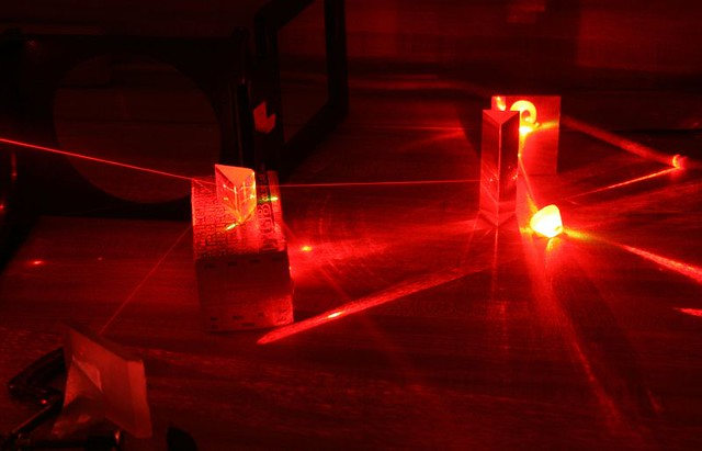 Helium Neon Laser | Just fiddling with the remnants of a ...