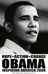 obama inspire poster