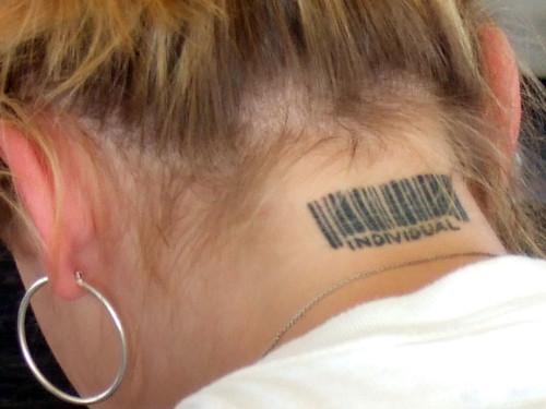 Barcode Tattoo Neck 2762005194_fb5b2cdb6f....