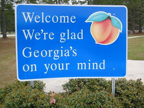 usa georgia signage restarea kingsland topviewed
