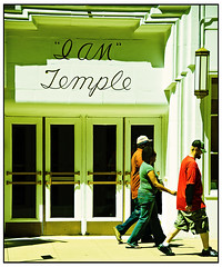 I AM Temple Faux Lomo
