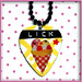 LICK YOUR PICK Ice Cream Lick DIY Necklace Charm Pendant