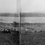 Australian Rest Camp at Sarpi. The 3rd A.G.H. is seen in the opposite distance.