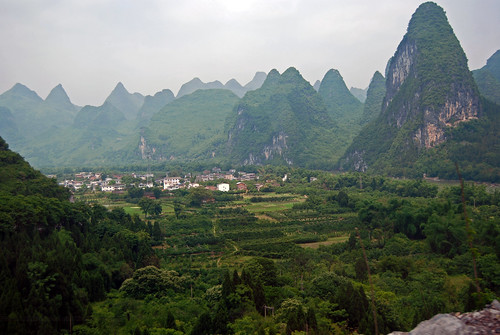 Guilin, China. This is one of the iconic karst landscapes, utterly extraordinary. Image credit Harvey Barrison on Flickr.