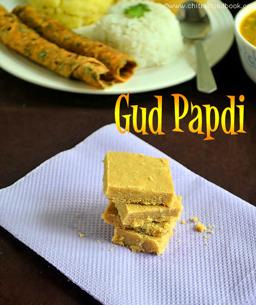 Sukhdi(Gud Papdi)Recipe-Easy Gujarati Sweets Recipes