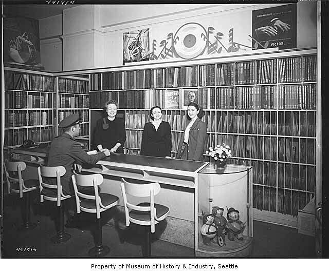 Seattle Record Store (Circa 1944)