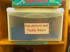 Calculators and Teddy Bears
